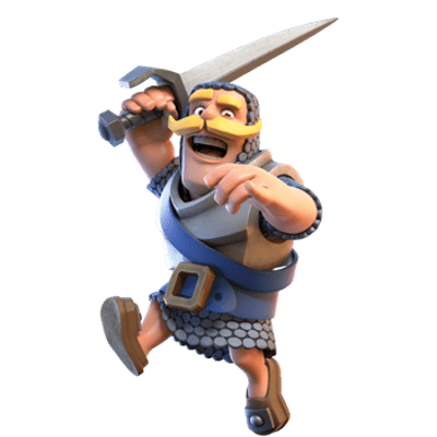 Sehr Clash Royale Knight Jumping transparent PNG - StickPNG YG21