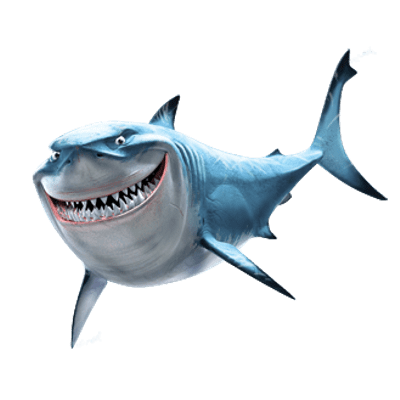 Bruce Shark Finding Nemo