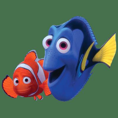 Nemo and dory transparent png stickpng - Doris et nemo ...