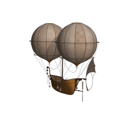 Fantasy Boat Hot Air Balloon