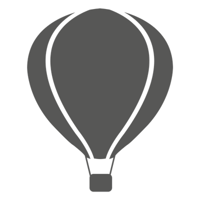 Hot Air Balloon Simple Clipart