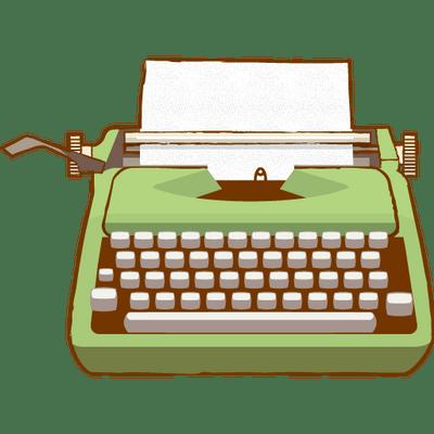 Old Typewriter Clipart transparent PNG - StickPNG