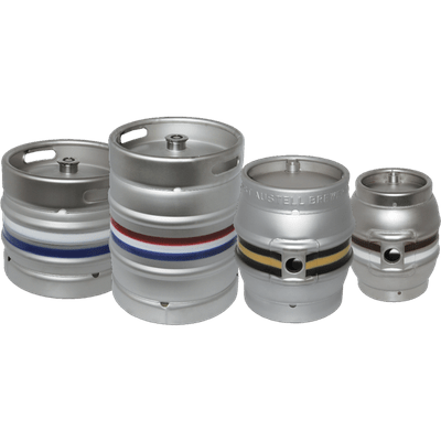 Four Brand New Beer Kegs