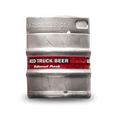 Red Truck Beer Keg