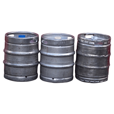 Three Scottsdale Beer Kegs