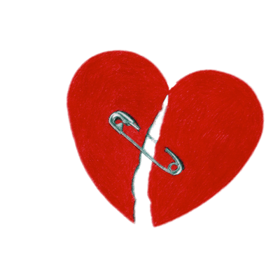 Broken Heart Symbol Transparent Png Stickpng