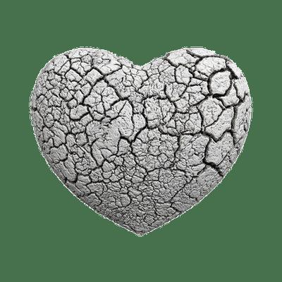 Broken Heart Black and White transparent PNG - StickPNG
