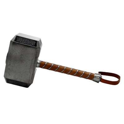 thor battle hammer transparent png stickpng