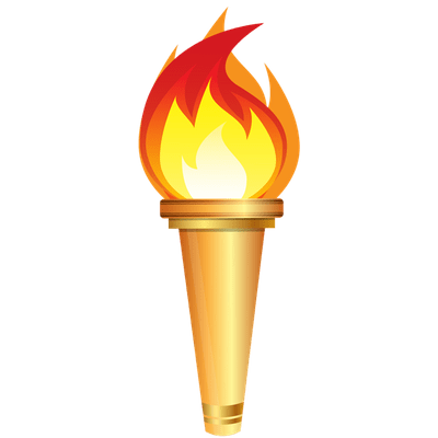 Bamboo Torch Clipart Transparent PNG