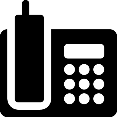 Blue Phone Icon transparent PNG - StickPNG