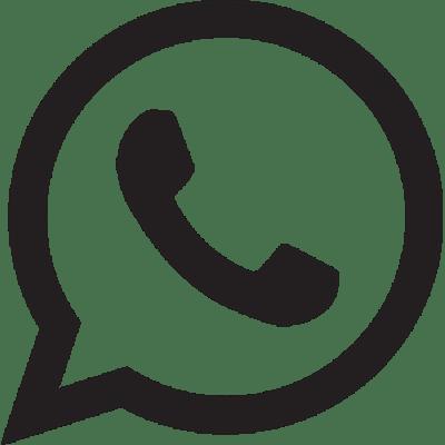 Logo Whatsapp Blanco y Negro
