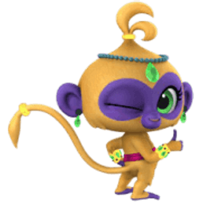 Shimmer And Shine Talah Thumbs Up Transparent Png Stickpng