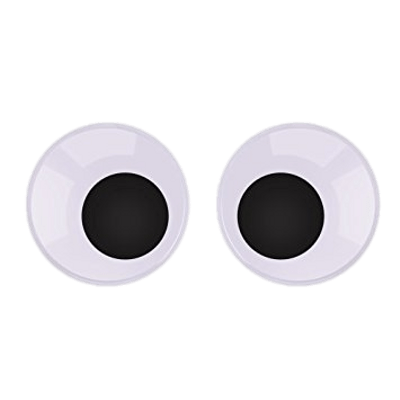 Black Googly Eyes Transparent Png Stickpng