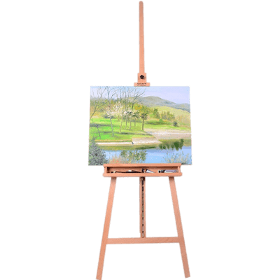 Blank Canvas on Easel transparent PNG - StickPNG