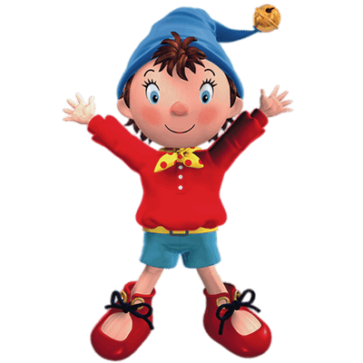 Noddy and tessie transparent png stickpng.
