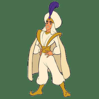 Aladdin As Prince Ali Transparent Png Stickpng