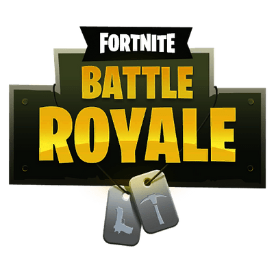 Fortnite Battle Royale Logo Transparent Png Stickpng