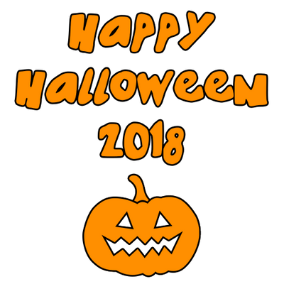 Halloween Pumpkin Clipart Transparent Background.Happy Halloween 2018 Round Scary Pumpkin Transparent Png