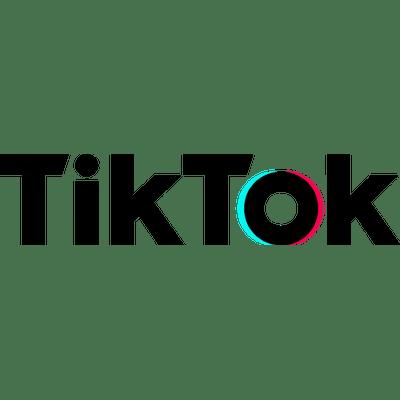Tik Tok Text Logo Transparent Png Stickpng