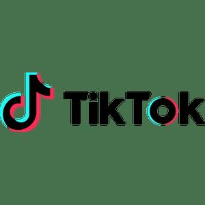 Tiktok Long Text Logo Transparent Png Stickpng